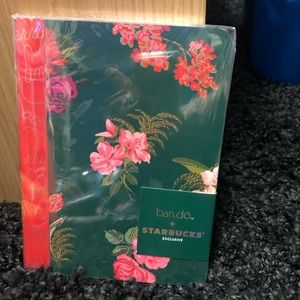 Starbucks Bando 2 pack limited edition notebooks
